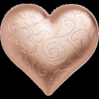 5 $ 2021 Palau - Rosy Heart