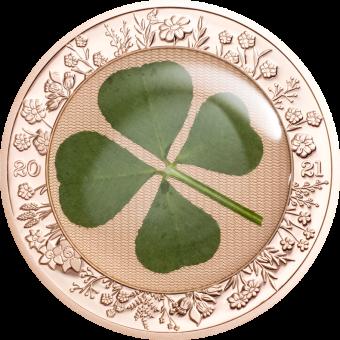 5 $ 2021 Palau - Ounce of Luck - Four Leaf Clover