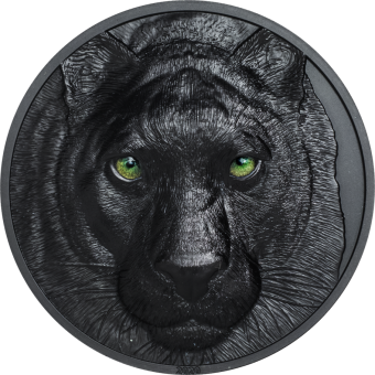 5$ 2020 Palau - Hunters by Night - Black Panther