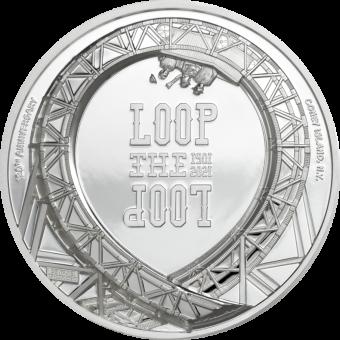 5$ 2021 Cook Islands - Loop the Loop - Stahlachterbahn