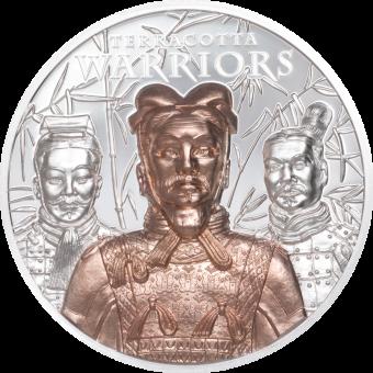 20$ 2021 Cook Islands - Terracotta Warriors Ag 3oz