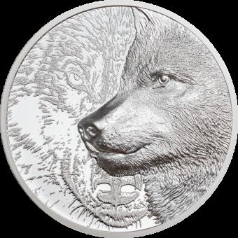 500 Togrog 2021 Mongolia - Mystic Wolf 1oz