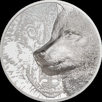2000 Togrog 2021 Mongolia - Mystic Wolf 3oz