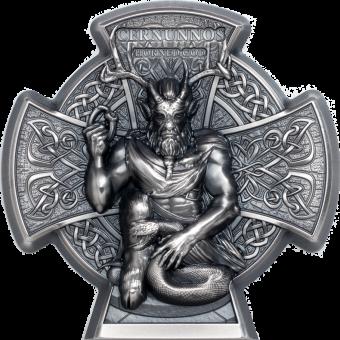 5 Pounds 2021 Isle of Man - Cernunnos – Horned God