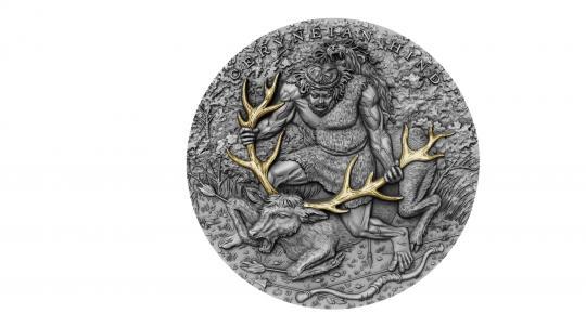5 $ 2020 Niue Island - Zwölf Arbeiten des Herkules - Ceryneian Hind