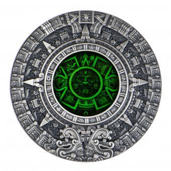2$ 2019 Niue Island - Aztec Calendar