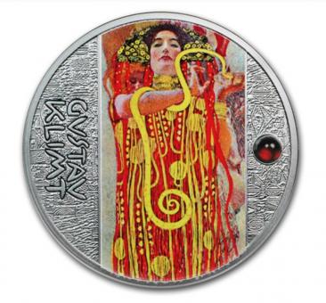 1$ 2018 Niue - Goldene Fünf - Gustav Klimt - Medizin