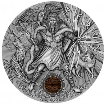 2$ 2018 Niue - Slavic Gods - Perun