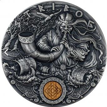 2$ 2020 Niue - Slawische Götter - Stribog