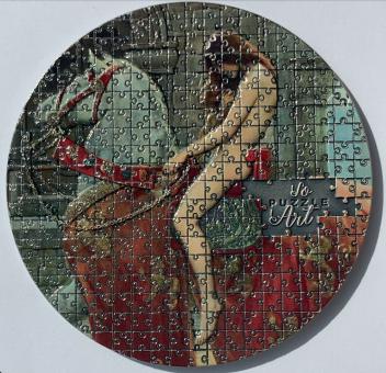 3000 Francs 2020 Kamerun - SoPuzzle Art - John Collier - Lady Godiva