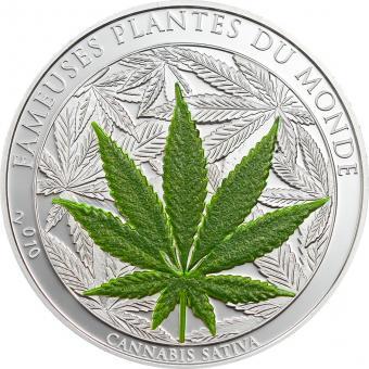 1000 Francs 2010 Benin  - Cannabis Sativa