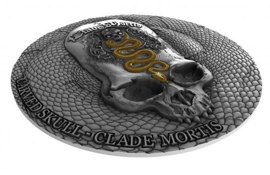 1000 Francs 2018 Kamerun - Carved Skull III - Clade Mortis