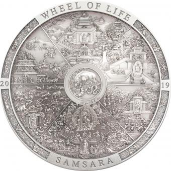 20$ 2019 Cook Islands - Archeology & Symbolism - Samsara