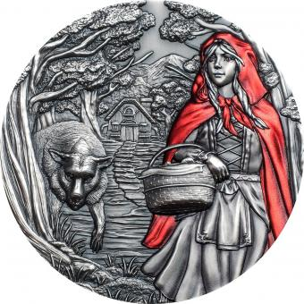 20$ 2019 Cook Islands -  Fairy Tales & Fables - Little Red Riding Hood