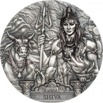 20$ 2020 Cook Islands - Gods of the World - Shiva