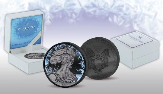 1$ 2017 USA - Deep Frozen Edition - Liberty