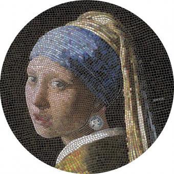 20 $ 2019 Palau - Mikromosaik Leidenschaft - Vermeer - Girl Pearl Earring - Mädchen mit Perlenohranhängern