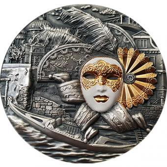 5$ 2019 Niue Island - Venetian Mask