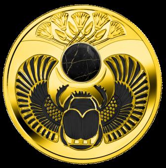 1$ 2019 Niue Island - Onyx Scarabäus Käfer