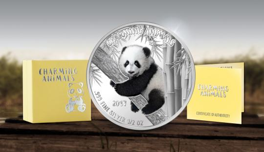 1000 Francs 2017 Benin - Charming Animals - The Cute Little Panda