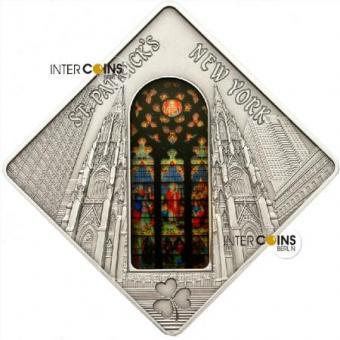 10 $ 2011 Palau - Holy Windows - St. Patrick's Cathedral