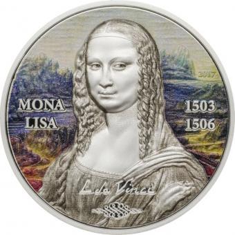 5$ 2017 Palau - Art Revived - Mona Lisa Revived