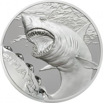 5$ 2017 Palau - Bissspuren - Hai