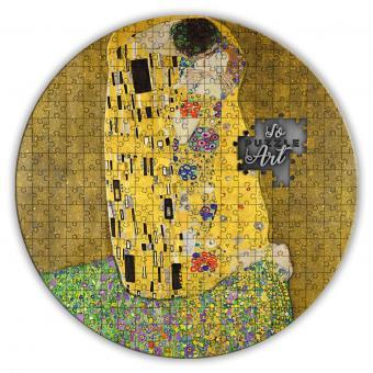 3000 Francs 2019 Kamerun - SoPuzzle Art - Gustav Klimt - der Kuss