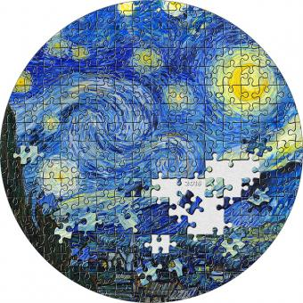 20 $ 2019 Palau - Micropuzzle Treasures -  Van Gogh - STARRY NIGHT / Sternenhimmel