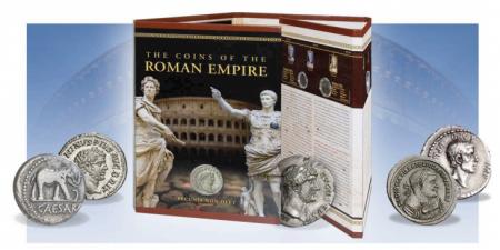 Münzen des römischen Imperiums im Folder inkl. Beschreibung!