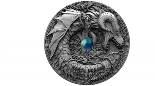 2$ 2019 Niue - Dragons - Norse Dragon