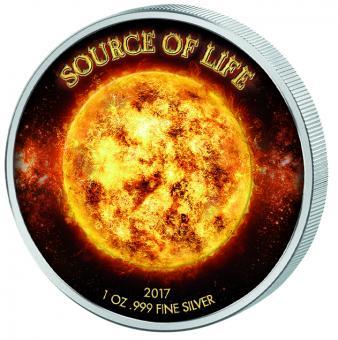 1000 Francs 2017 Benin - Source of Life - Sun