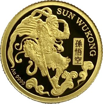 1$ 2020 Niue Island - Journey to the West - Sun Wukong Au