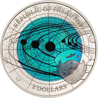 2$ 2018 Palau - Solar System - Uranus Niobium