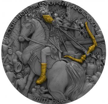 5$ 2018 Niue Island - Four Horsemen Of The Apocalypse - White Horse