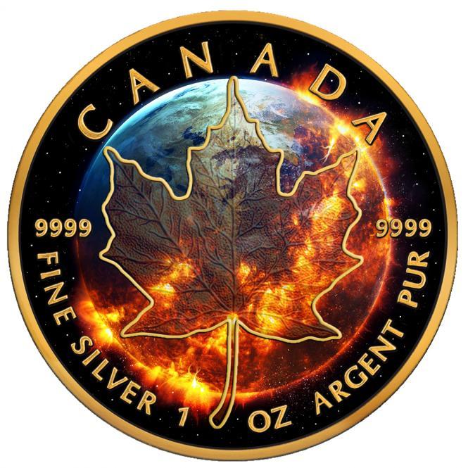 5$ 2016 Kanada - Apocalypse - Maple Leaf