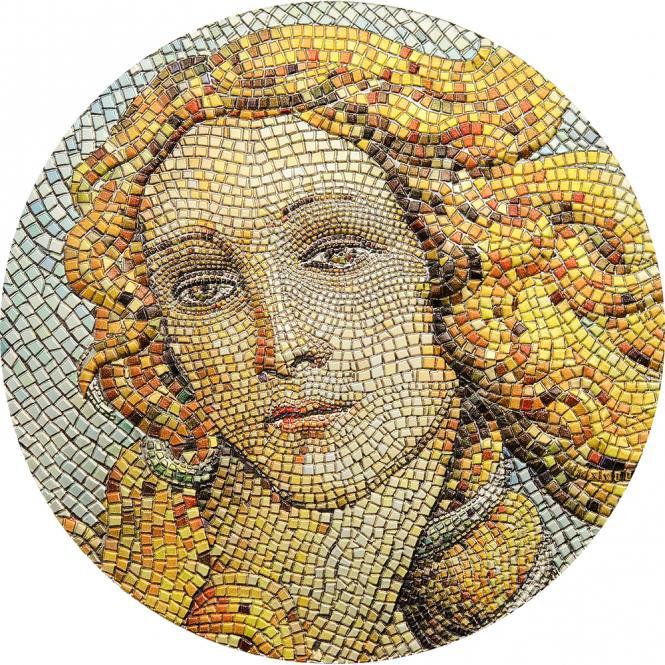 Vorverkauf! 20 $ 2017 Palau - Mikromosaik Leidenschaft - Botticelli - die Geburt der Venus