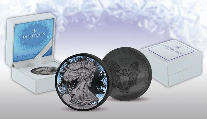 Vorverkauf! 1$ 2017 USA - Deep Frozen Edition - Liberty