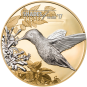 5$ 2017 Cook Islands - Shades of Nature - Kolibri