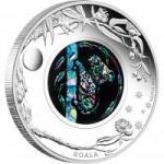 """1 $ 2012 Australien - """"Koala"""" - Opal Serie"""