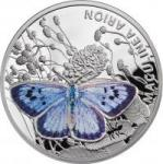 1 $ 2011 Niue Island - Quendel-Ameisenbläuling