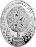 2 $ 2012 Niue Island - Imperial Faberge - Lorbeerbaum Ei