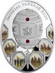 2 $ 2012 Niue Island - Imperial Faberge - Napoleonisches Ei