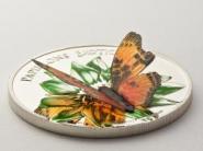 1000 Francs 2011 Kamerun - Charaxes fournierae - 3D Schmetterling