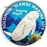 10 $ 2011 Solomon Islands - Gabelschwanzseekuh