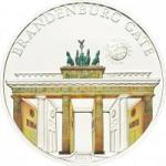 5 $ 2012 Palau - Wunder der Welt - Brandenburger Tor