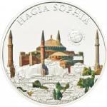 5 $ 2012 Palau - Wunder der Welt - Hagia Sophia
