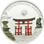 5 $ 2012 Palau - Wunder der Welt - Itsukushima Schrein