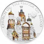 5 $ 2012 Palau - Wunder der Welt - Bluterlöserkirche in St. Petersburg
