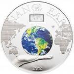10 $ 2012 Cook Islands - Nano Erde - die Welt in Deiner Hand